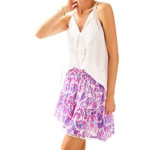 Lilly Pulitzer Flamingo Evelyn Skirt